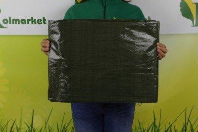 Gruba plandeka okryciowa zielona 6x8m 90gram
