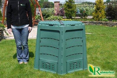 Kompostownik ogrodowy THERMOQUICK EXPRESS 820 litrów + 3 GRATISY