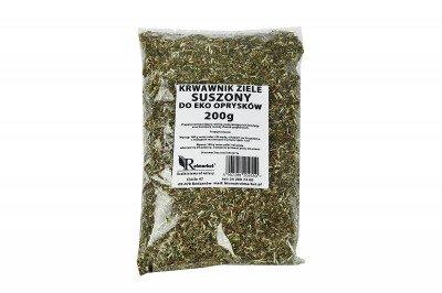 Krwawnik ziele, suszony 200 g - naturalny środek do eko oprysków na mączniaka, zgniliznę, plamistość liści, kędzierzawość liści