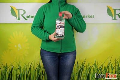 Lux Fire™ 1 l –  ekologiczne biopaliwo do kominka (bioetanol do biokominka)