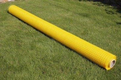 Najmocniejsza siatka przeciw kretom StrongNet - włoska (siatka na krety), oczko 15x19, kolor żółty 2x200m + kołki mocujące GRATIS