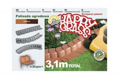 Palisada ogrodowa Happy Grass IHAP terakota
