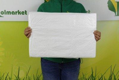 Plandeka okryciowa biała 5x6m