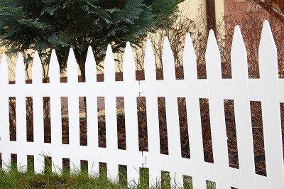 Płotek ogrodowy Garden Classic IPŁSU2 biały 3,5m