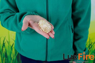 Podpałka długopaląca z wełny drzewnej LUX FIRE 3 kg + zapalarka GRATIS