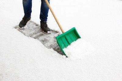 Polska łopata do śniegu Standard 40cm