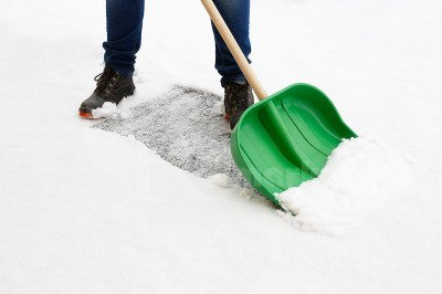 Polska łopata do śniegu głęboka 45cm