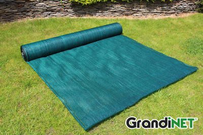 Siatka cieniująca, Grandinet osłonowa na ogrodzenia 1,5x50m 90%