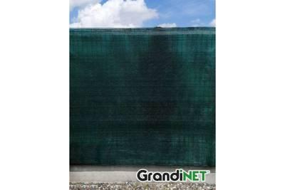 Siatka cieniująca, osłonowa Grandinet na ogrodzenia 1,7x50m 90%