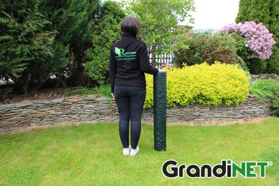 Siatka cieniująca, osłonowa Grandinet na ogrodzenia 2x120m 55%