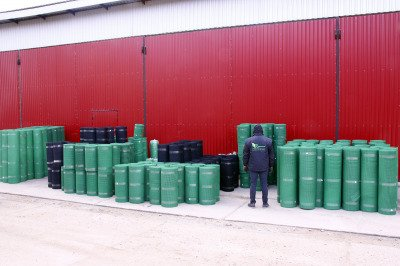 Siatka rabatowa 1,2x25m zielona