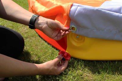 Składana piaskownica plastikowa 140cm z pokrowcem wodoodpornym + Gratis dno z agrowłókniny