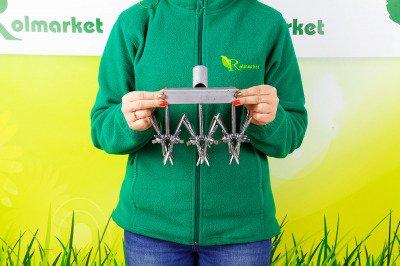 Spulchniacz 3-rzędowy do gleby i trawnika 50350