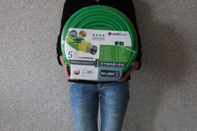 """Wąż ogrodowy nie skręcający się Green ATS2 3/4"""" 25m"""