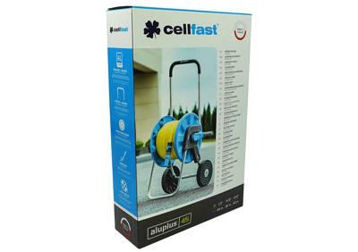 """Wózek na wąż ogrodowy 45m 1/2"""" Aluplus Cellfast (55-250)"""