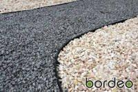 Obrzeże ogrodowe (trawnikowe) Bordeo R5 45 mm x 1m – kolor czarny